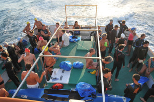 Bell tops Reef & Run's 'Boat to Beach Swim'