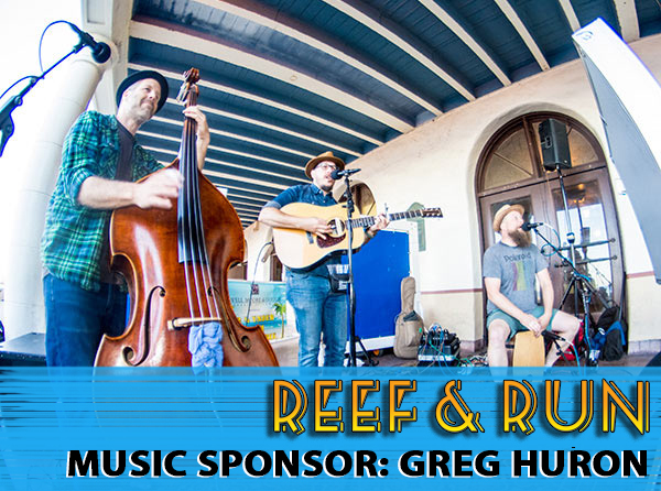 Live Music at Reef and Run Brought to you by Greg Huron